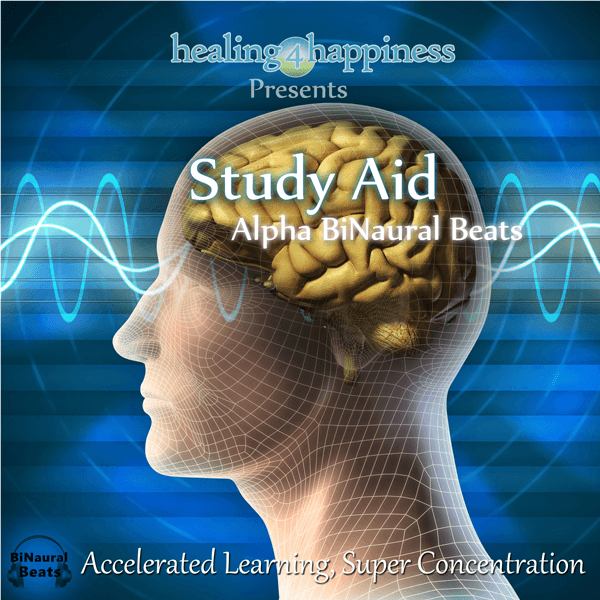 Study-Aid-Alpha-BiNaural-Beats improve concentration, super learning, improve memory