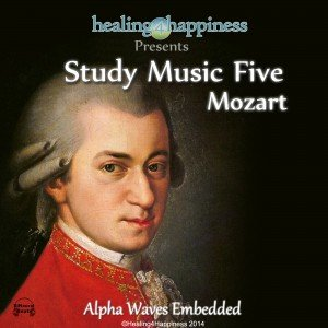 Study Music Five - Mozart with Alpha Waves
